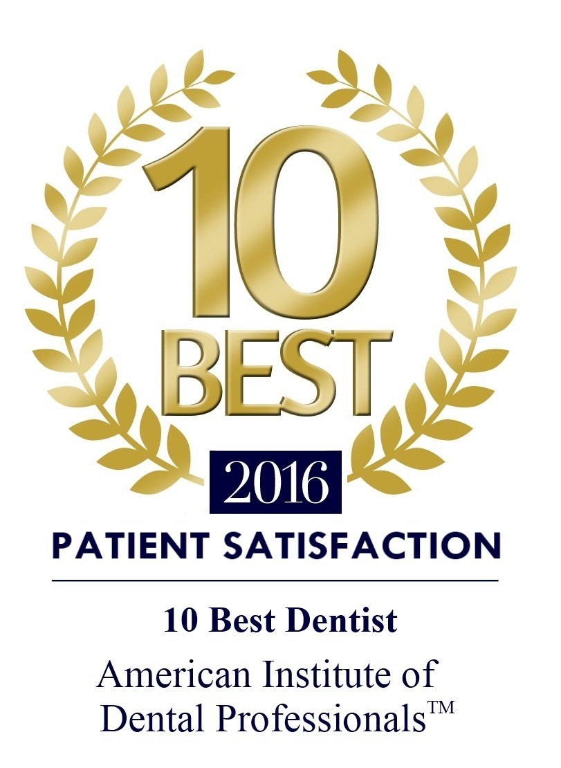 Recognized by the American Institute of Dental Professionals™